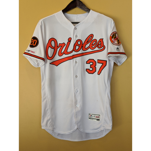 Photo of Dylan Bundy - Home Jersey: Game-Used