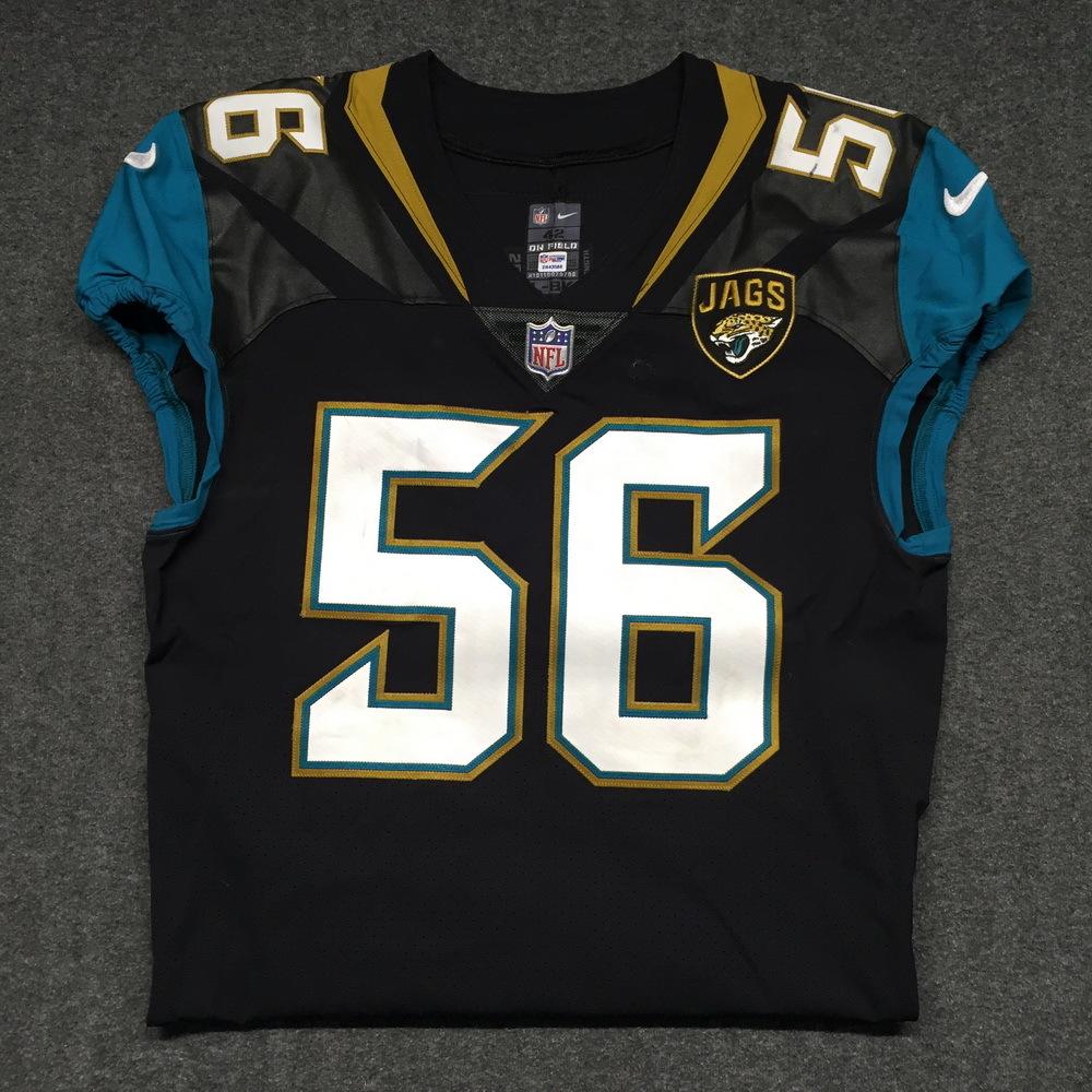NFL Auction | STS - Jaguars Dante Fowler Jr. game worn Jaguars ...