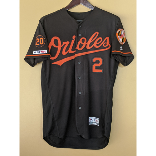 Photo of Jonathan Villar - Black Alternate Jersey: Game-Used