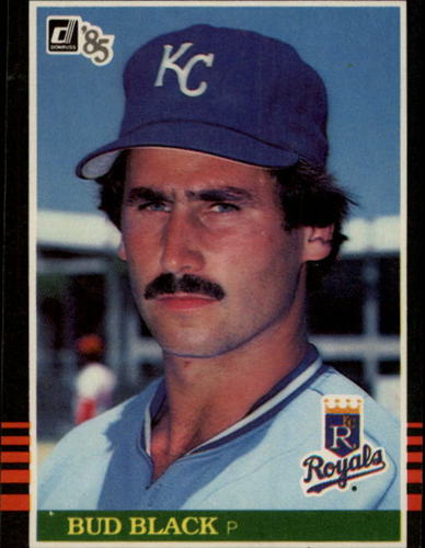 Photo of 1985 Donruss #100 Bud Black