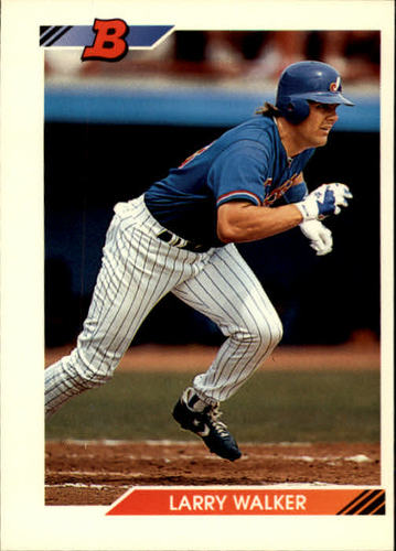 Photo of 1992 Bowman #648 Larry Walker