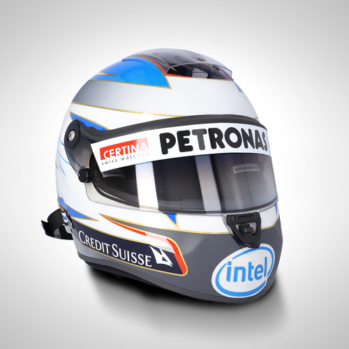 Photo of Nick Heidfeld 2007 1:1 Replica Helmet