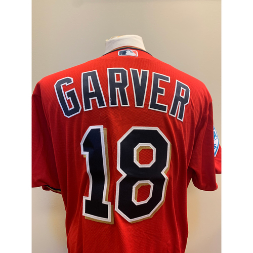 Photo of Minnesota Twins - 2019 Game-Used Spring Training Jersey - Mitch Garver