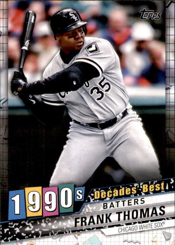 Photo of 2020 Topps Decades' Best #DB52 Frank Thomas