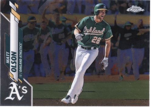 Photo of 2020 Topps Chrome #183 Matt Olson