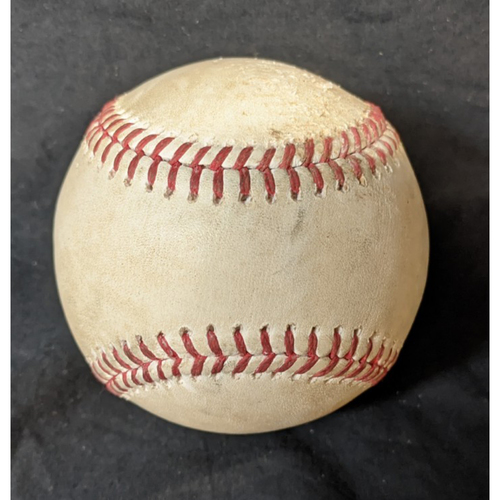 Photo of Game-Used Baseball: 8/12/20 Padres @ Dodgers - Batters: Wil Myers, Greg Garcia, Pitcher: Tony Gonsolin (Strikeout, Ball)