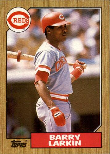 Photo of 1987 Topps #648 Barry Larkin RC