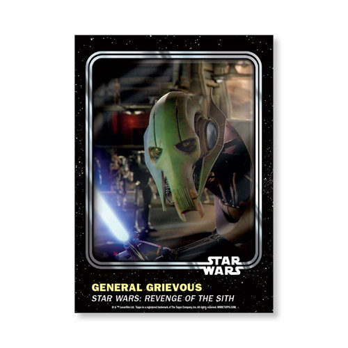 General Grievous 2016 Star Wars Card Trader Base Poster - # to 99