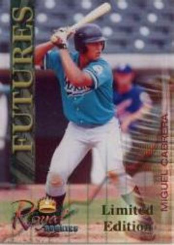 Photo of 2000 Royal Rookies Futures #6 Miguel Cabrera