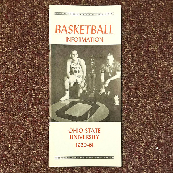Photo of Ohio State 1960-61 Men's Basketball Information Guide
