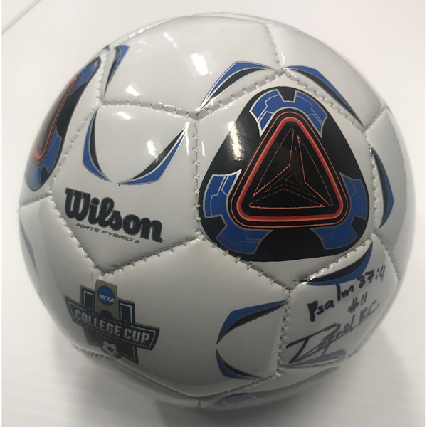 Photo of Mini Soccer Ball Signed By Rocky Rodriguez