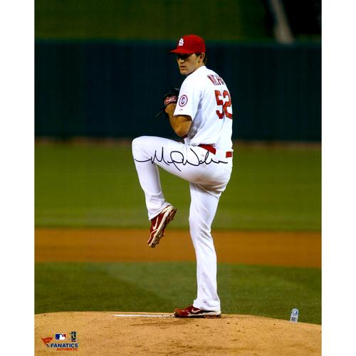 "Photo of Michael Wacha St. Louis Cardinals Autographed 16"" x 20"" Vertical Leg Up Photograph"
