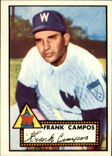 Photo of 1983 Topps 1952 Reprint #307 Frank Campos
