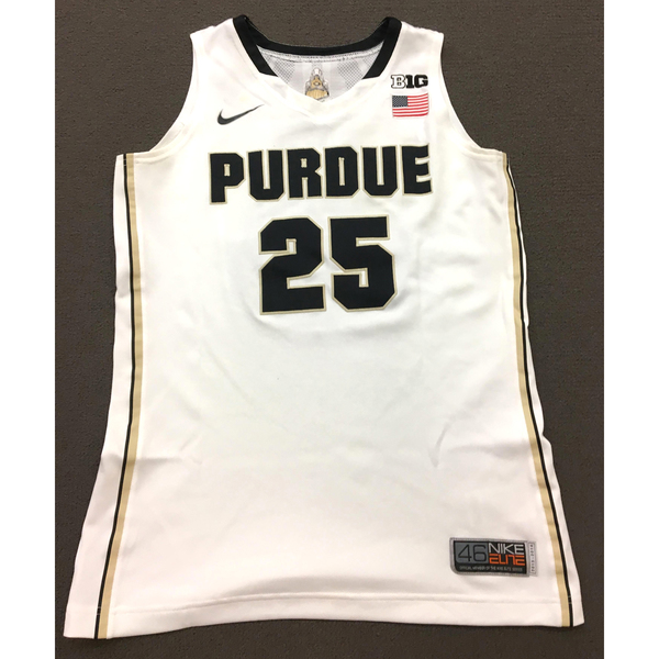 Photo of Wilson #25 Purdue Women's Basketball 2013-14 White Jersey