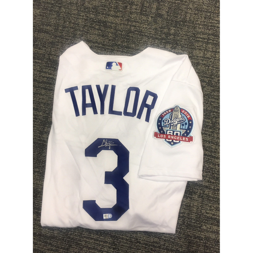 Photo of LADF Blue Diamond Gala Auction: Chris Taylor Authentic Autographed Jersey (Size 48)