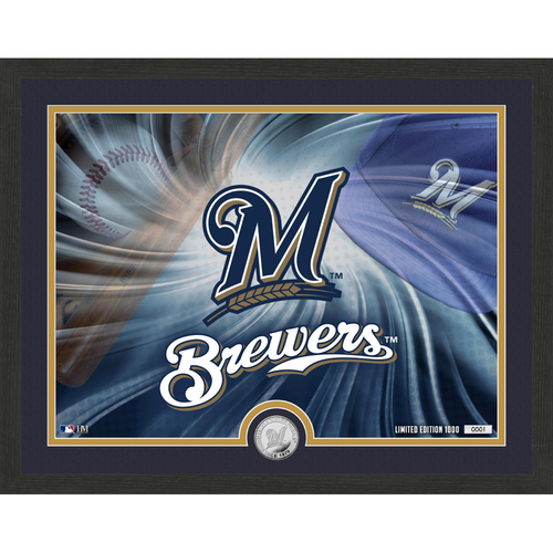 """Photo of Milwaukee Brewers Pride 16""""x 20"""" Silver Coin Photo Mint"""