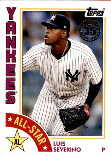Photo of 2019 Topps '84 Topps All Stars #84ASLS Luis Severino