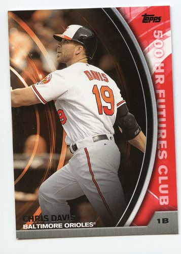 Photo of 2016 Topps Update 500 HR Futures Club #50016 Chris Davis