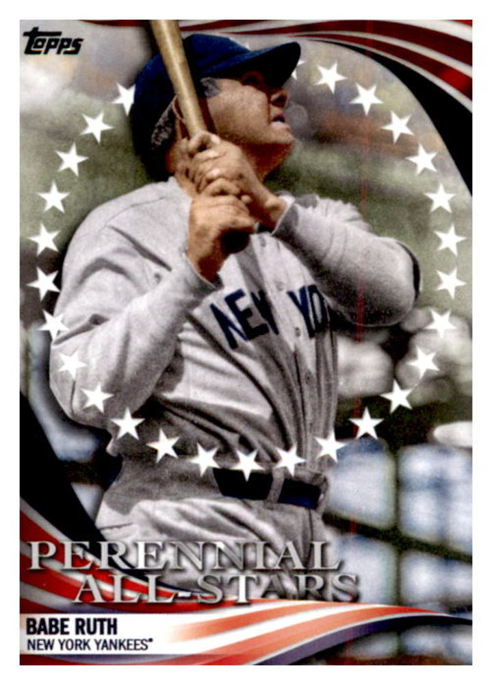 2019 Topps Update Perennial All Stars #PAS1 Babe Ruth