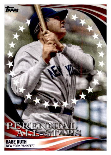 Photo of 2019 Topps Update Perennial All Stars #PAS1 Babe Ruth