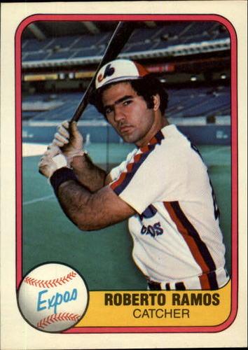 Photo of 1981 Fleer #162 Roberto Ramos RC