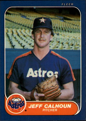Photo of 1986 Fleer #295 Jeff Calhoun