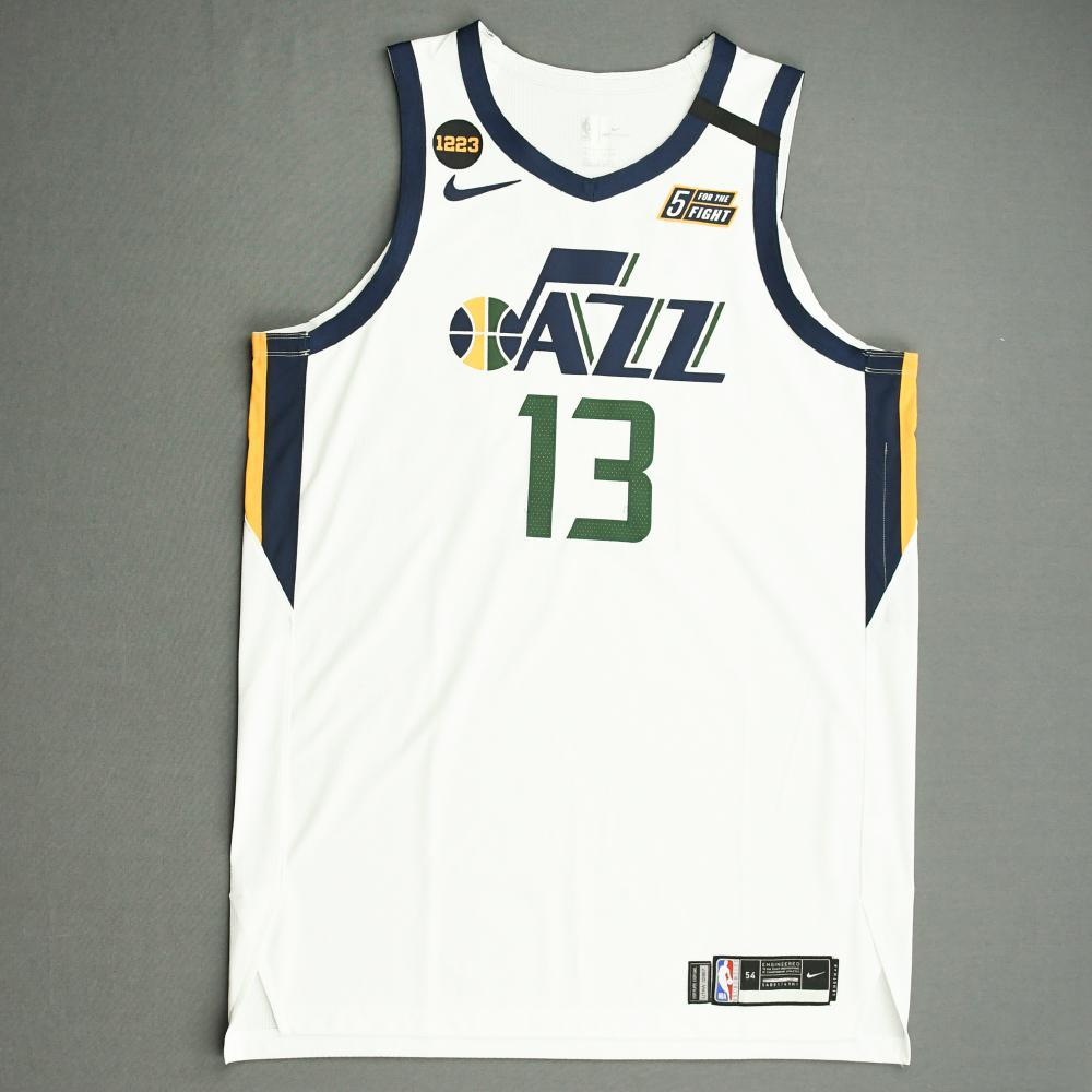 Tony Bradley - Utah Jazz - Game-Worn Association Edition Jersey - 2019-20 NBA Season Restart with Social Justice Message