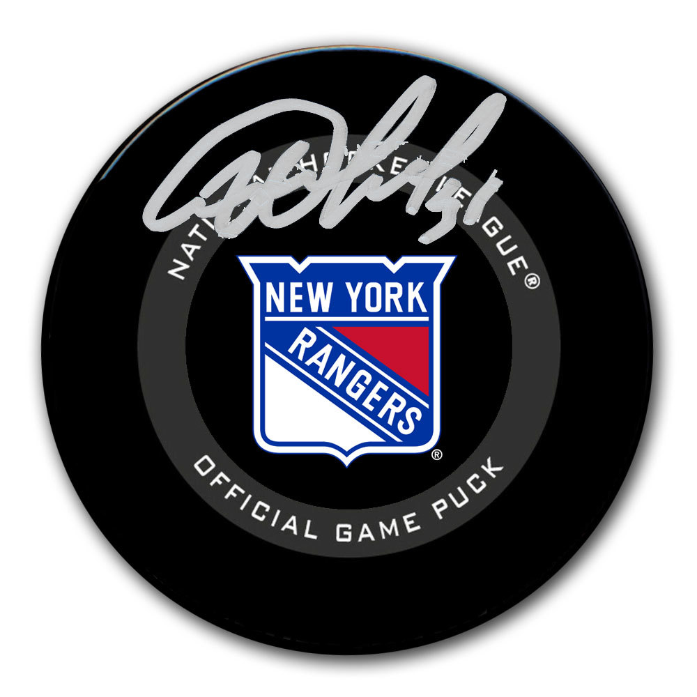 Igor Shesterkin New York Rangers Autographed Official Game Puck