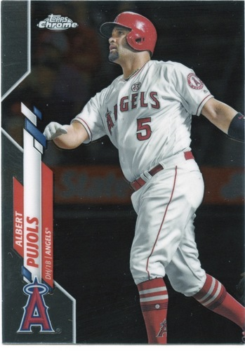 Photo of 2020 Topps Chrome #127 Albert Pujols