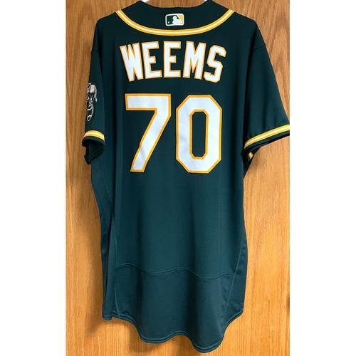 Photo of Jordan Weems Game-Used 2020 Jersey