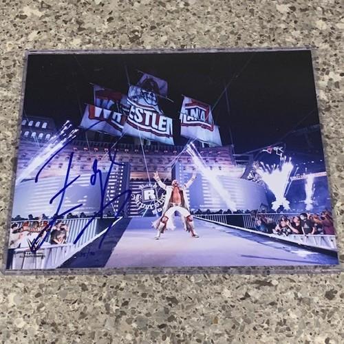 Photo of Edge SIGNED WrestleMania 37 8x10 Photo (Random Number)
