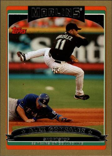 Photo of 2006 Topps Gold #93 Alex Gonzalez
