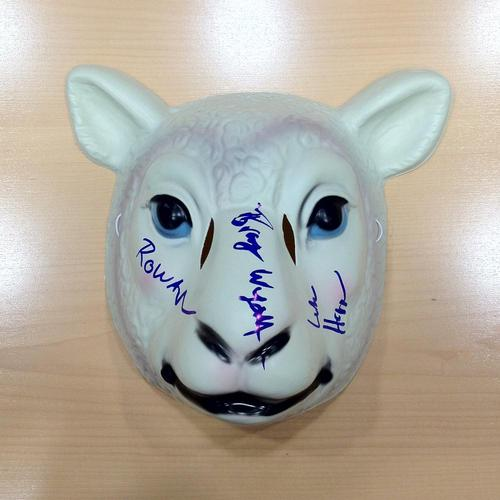 Wyatt Family SIGNED Sheep Mask
