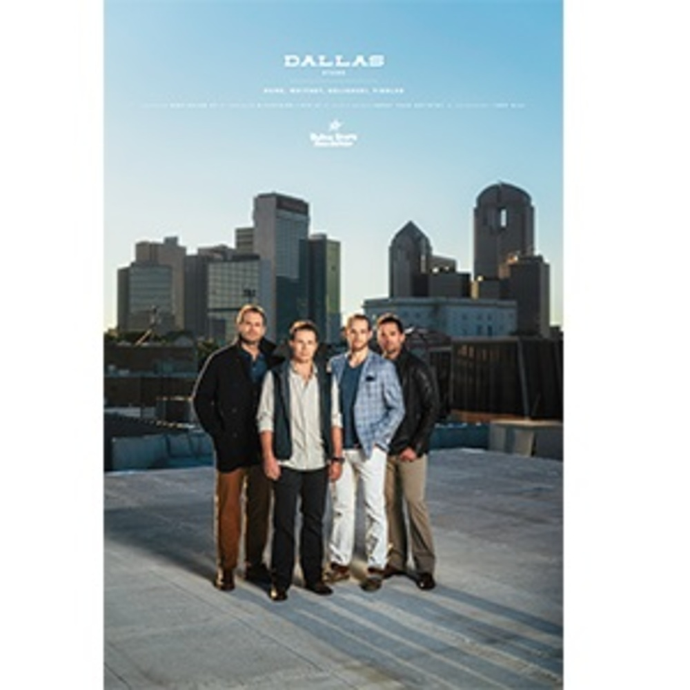 Dallas Stars Foundation Limited Edition Poster Series - Fiddler, Goligoski, Rome and Whitney