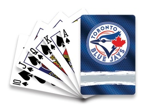 Toronto Blue Jays Playing Cards by Hunter