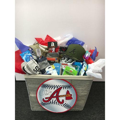 Braves Charity Auction - Braves Wives Favorite Things Basket - Sam Freeman