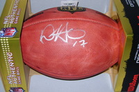 NFL - GIANTS DWAYNE HARRIS SIGNED AUTHENTIC FOOTBALL