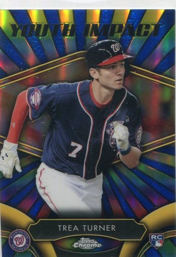 Photo of 2016 Topps Chrome Youth Impact #YI8 Trea Turner