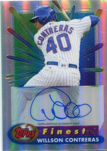 Photo of 2017 Finest '94-'95 Finest Recreates Autographs Willson Contreras