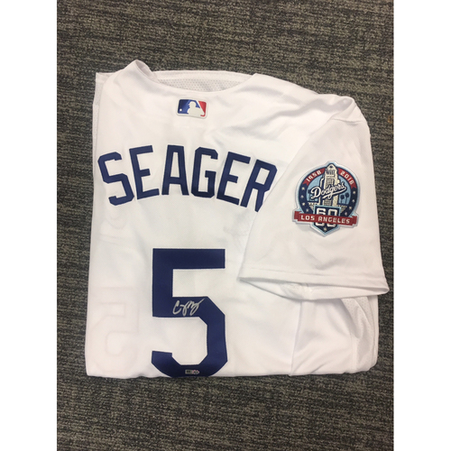 Photo of LADF Blue Diamond Gala Auction: Corey Seager Authentic Autographed Jersey (Size 48)