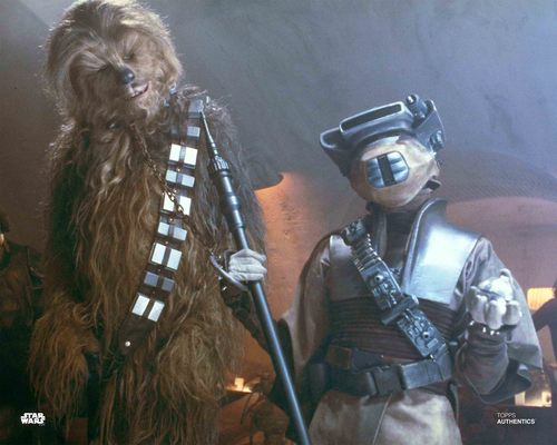 Boushh and Chewbacca