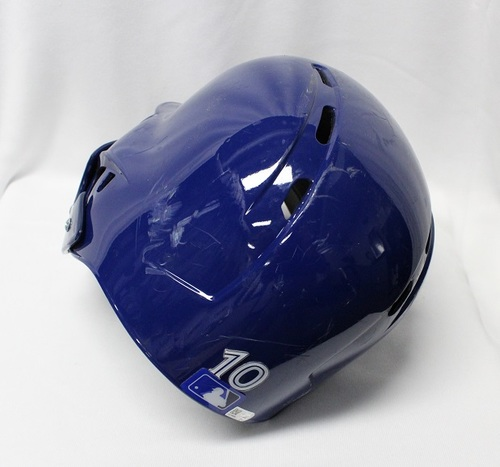 Photo of Authenticated Team Issued Helmet - #10 Brandon Drury. Size 7 3/8.
