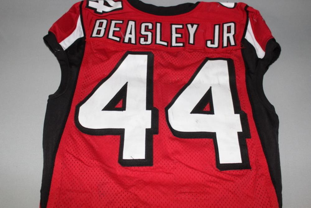 the best attitude 179c8 561ff NFL Auction | STS - Falcons Vic Beasley game worn Falcons ...
