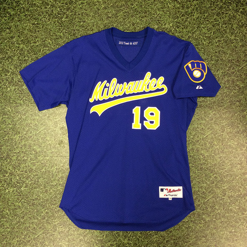 sports shoes 587bb 042b2 MLB Auctions   Brewers Charity RETRO Auction: Robin Yount ...