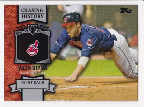 Photo of 2013 Topps Chasing History #CH51 Jason Kipnis