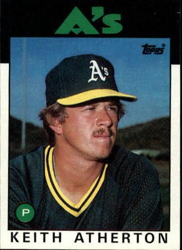 Photo of 1986 Topps #353 Keith Atherton