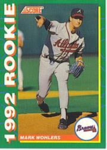 Photo of 1992 Score Rookies #5 Mark Wohlers