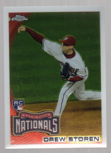Photo of 2010 Topps Chrome #216 Drew Storen RC