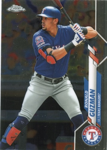 Photo of 2020 Topps Chrome #129 Ronald Guzman