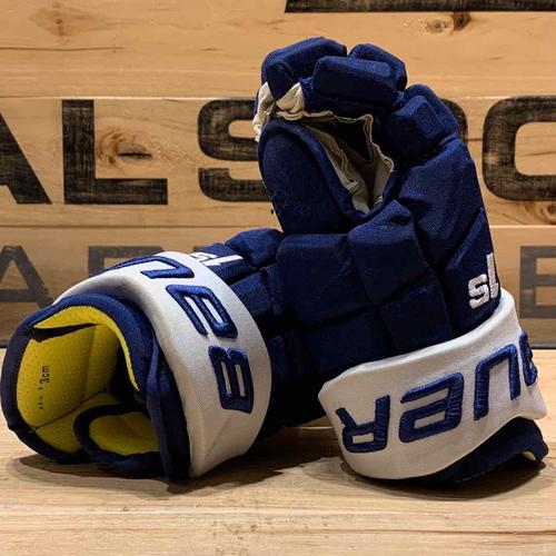 William Nylander 2019-20 Game Worn Bauer Gloves
